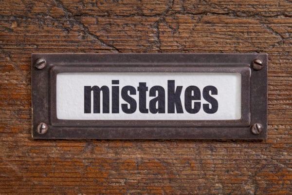 Title Company Errors