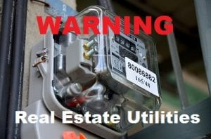 Real Estate Utilities WARNING