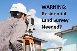 Residential Land Survey